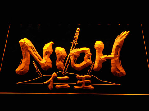 Nioh LED Neon Sign - Yellow - SafeSpecial