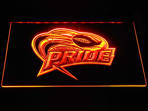 Northern Pride LED Neon Sign - Orange - SafeSpecial