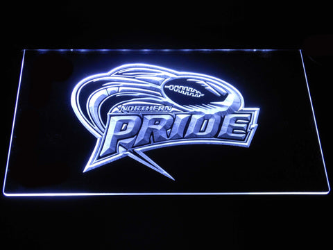 Northern Pride LED Neon Sign - White - SafeSpecial