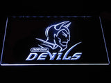 Norths Devils LED Neon Sign - White - SafeSpecial