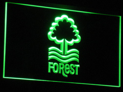 Nottingham Forest FC LED Neon Sign - Green - SafeSpecial