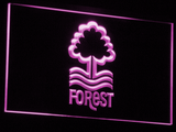 Nottingham Forest FC LED Neon Sign - Purple - SafeSpecial