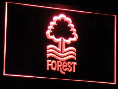 Nottingham Forest FC LED Neon Sign - Red - SafeSpecial