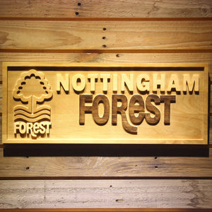Nottingham Forest FC Wooden Sign - Small - SafeSpecial