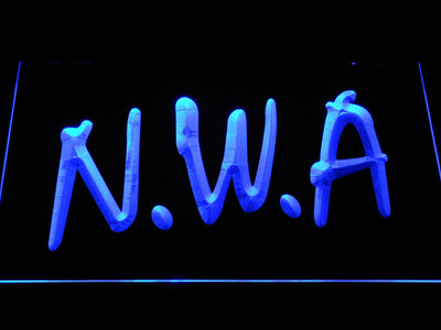 NWA LED Neon Sign - Blue - SafeSpecial