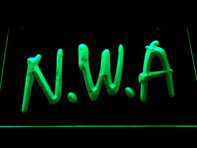NWA LED Neon Sign - Green - SafeSpecial