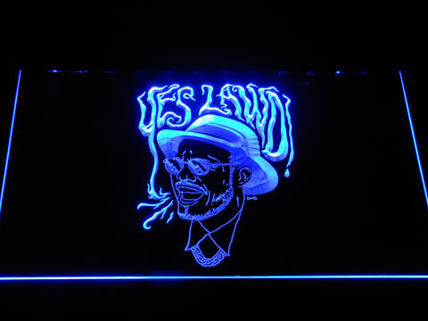 Image of Nx Worries Anderson Paak Yes Lawd LED Neon Sign - Blue - SafeSpecial