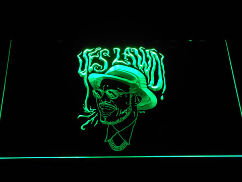 Image of Nx Worries Anderson Paak Yes Lawd LED Neon Sign - Green - SafeSpecial