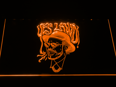 Image of Nx Worries Anderson Paak Yes Lawd LED Neon Sign - Orange - SafeSpecial
