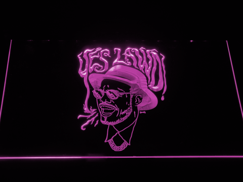 Image of Nx Worries Anderson Paak Yes Lawd LED Neon Sign - Purple - SafeSpecial