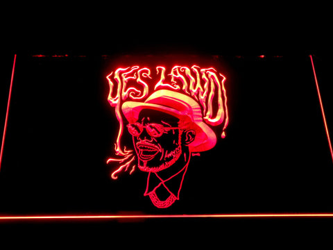 Image of Nx Worries Anderson Paak Yes Lawd LED Neon Sign - Red - SafeSpecial