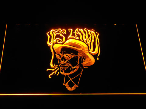 Image of Nx Worries Anderson Paak Yes Lawd LED Neon Sign - Yellow - SafeSpecial