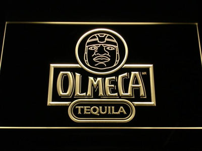 Olmeca Tequila LED Neon Sign - Yellow - SafeSpecial