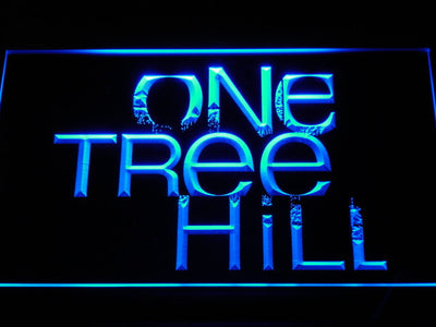 One Tree Hill LED Neon Sign - Blue - SafeSpecial