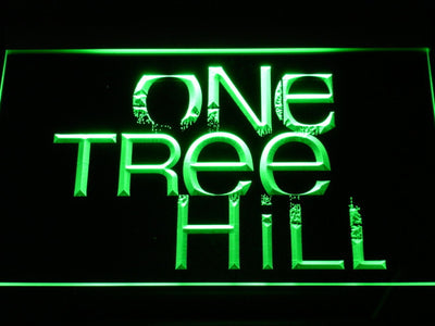 One Tree Hill LED Neon Sign - Green - SafeSpecial