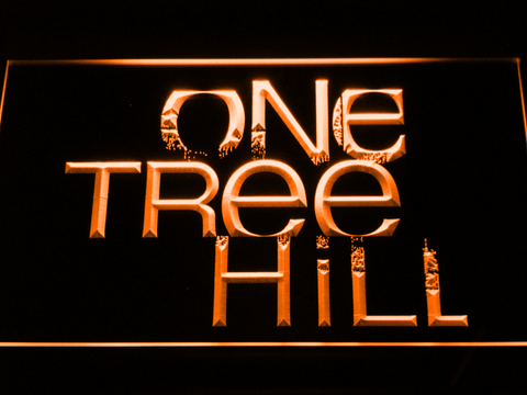 Image of One Tree Hill LED Neon Sign - Orange - SafeSpecial