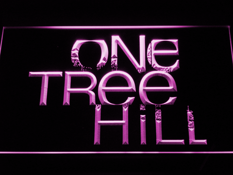 Image of One Tree Hill LED Neon Sign - Purple - SafeSpecial
