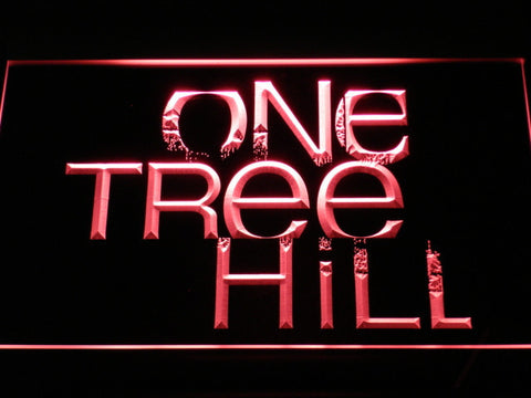 Image of One Tree Hill LED Neon Sign - Red - SafeSpecial