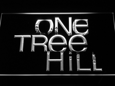 One Tree Hill LED Neon Sign - White - SafeSpecial