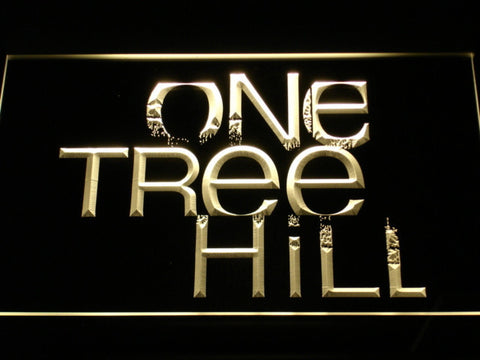 Image of One Tree Hill LED Neon Sign - Yellow - SafeSpecial
