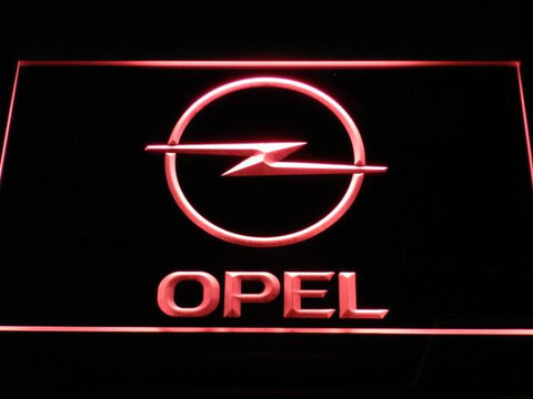 Image of Opel LED Neon Sign - Red - SafeSpecial
