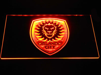 Orlando City SC LED Neon Sign - Orange - SafeSpecial