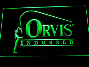 Orvis Endorsed LED Neon Sign - Green - SafeSpecial