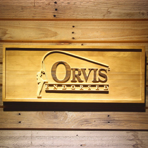 Orvis Endorsed Wooden Sign - Small - SafeSpecial