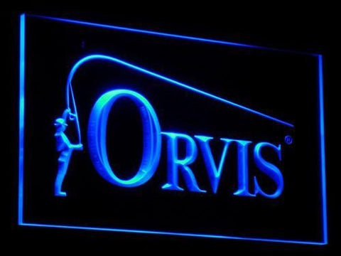 Orvis LED Neon Sign - Blue - SafeSpecial