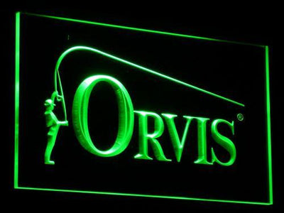 Orvis LED Neon Sign - Green - SafeSpecial