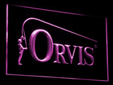 Orvis LED Neon Sign - Purple - SafeSpecial