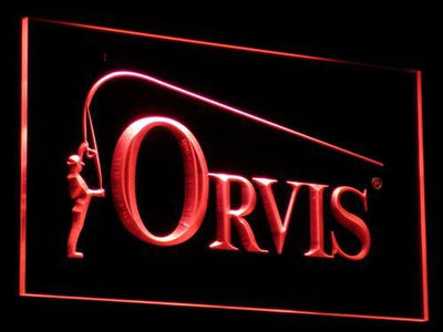 Orvis LED Neon Sign - Red - SafeSpecial