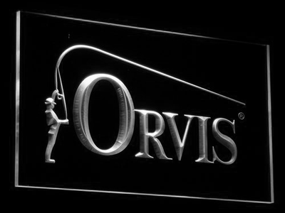 Orvis LED Neon Sign - White - SafeSpecial