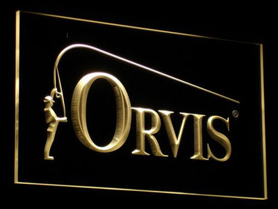 Orvis LED Neon Sign - Yellow - SafeSpecial