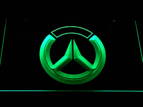 Image of Overwatch Logo LED Neon Sign - Green - SafeSpecial