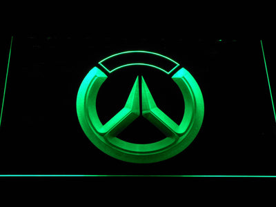 Overwatch Logo LED Neon Sign - Green - SafeSpecial
