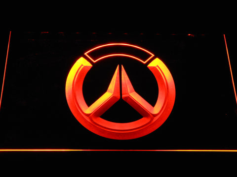 Image of Overwatch Logo LED Neon Sign - Orange - SafeSpecial