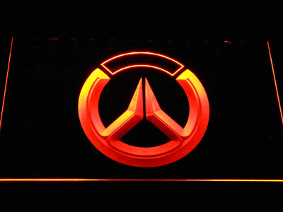 Overwatch Logo LED Neon Sign - Orange - SafeSpecial