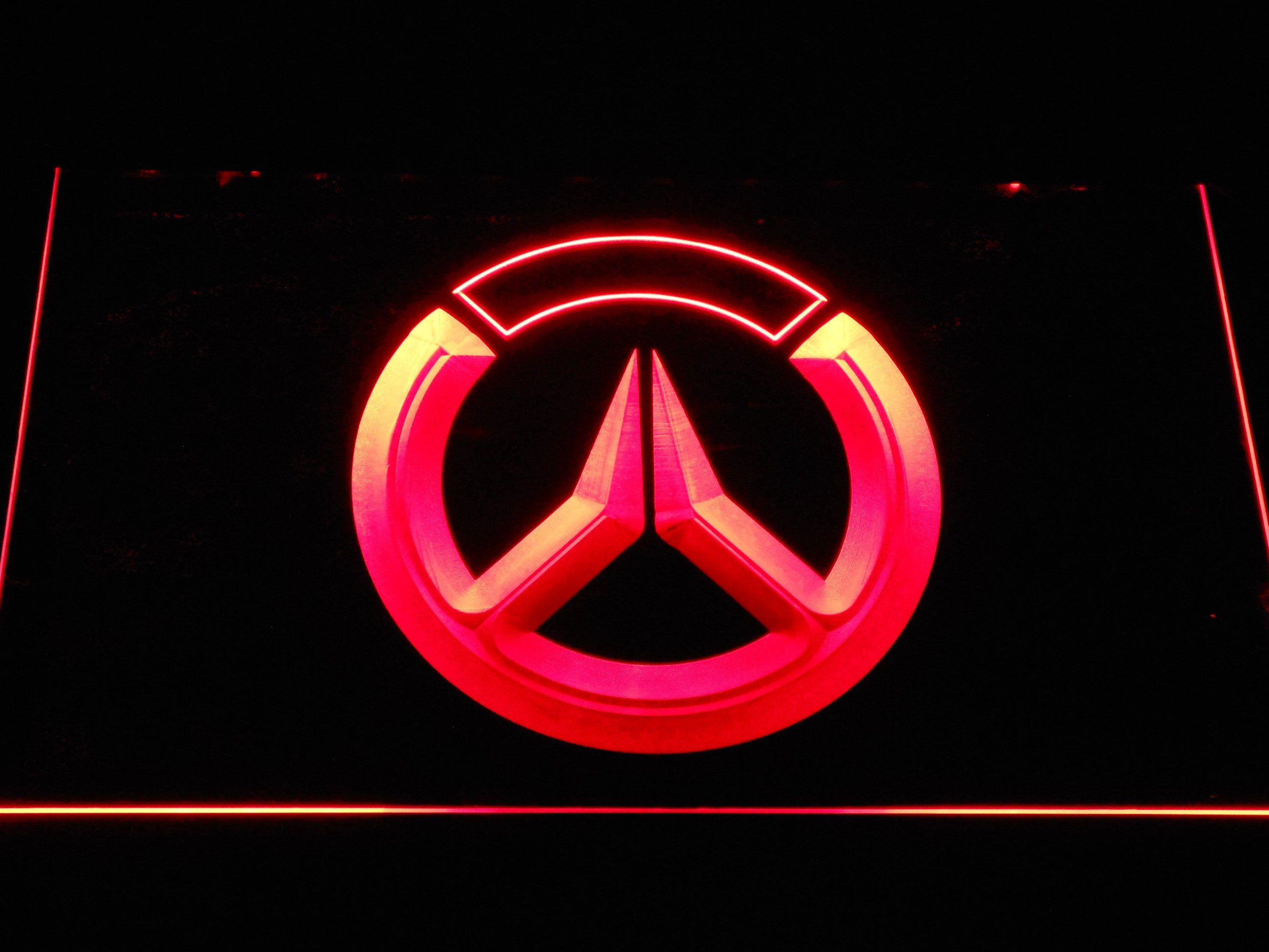 Overwatch Logo Led Neon Sign Safespecial