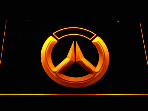 Image of Overwatch Logo LED Neon Sign - Yellow - SafeSpecial
