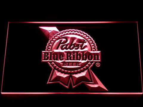 Image of Pabst Blue Ribbon LED Neon Sign - Red - SafeSpecial