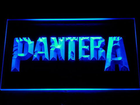 Pantera LED Neon Sign - Blue - SafeSpecial