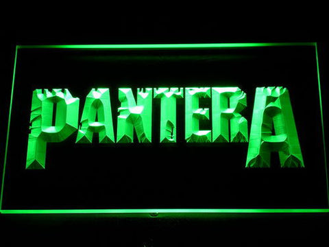 Pantera LED Neon Sign - Green - SafeSpecial