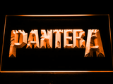Pantera LED Neon Sign - Orange - SafeSpecial