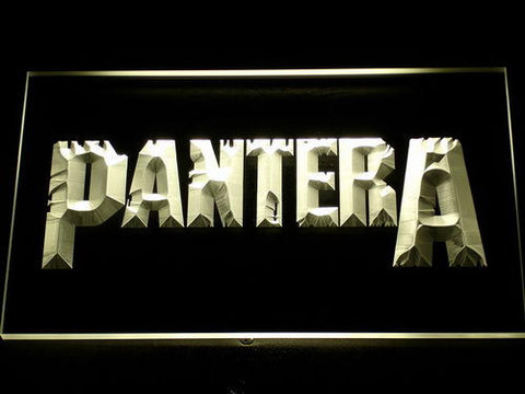 Pantera LED Neon Sign - Yellow - SafeSpecial