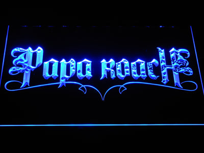 Papa Roach LED Neon Sign - Blue - SafeSpecial