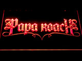 Papa Roach LED Neon Sign - Red - SafeSpecial