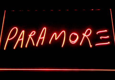 Image of Paramore LED Neon Sign - Red - SafeSpecial