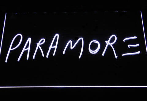 Image of Paramore LED Neon Sign - White - SafeSpecial