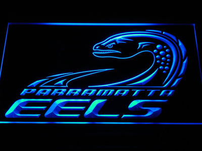 Parramatta Eels LED Neon Sign - Legacy Edition - Blue - SafeSpecial